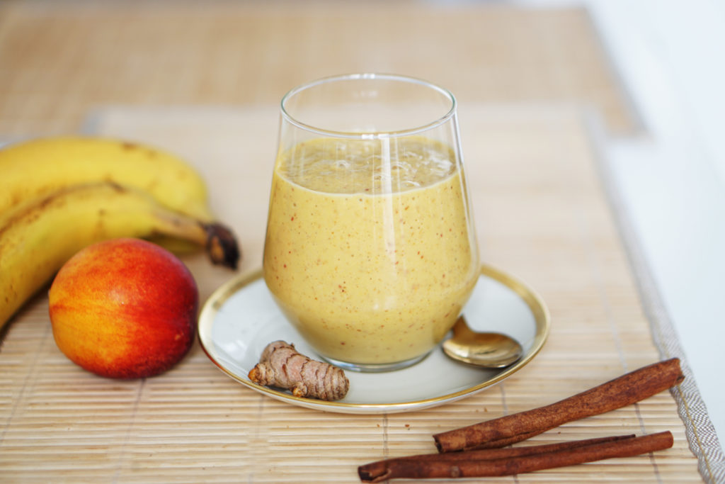 Photo of Turmeric cinnamon smoothie